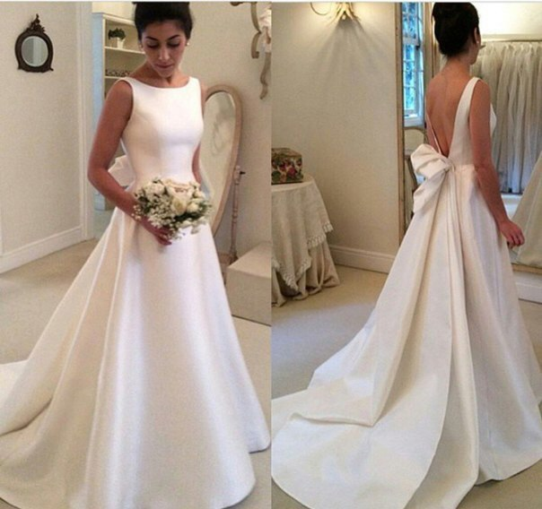 Wedding Dress, Hot Sale A Line Wedding Dresses Bridal Gowns Bow Wedding Gowns,Graduation Dresses,Wedding Guest Prom Gowns, Formal Occasion Dresses,Formal Dress