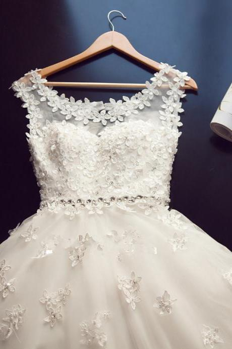 Romantic Wedding Dress, Lace Wedding Dresses,Modern Wedding Dress,Bridal Dress,A-line Wedding Dress,Floor-length Wedding Dress,Dress for Wedding,Wedding Gowns,Princess Bridal Dresses,Cheap Wedding Dresses