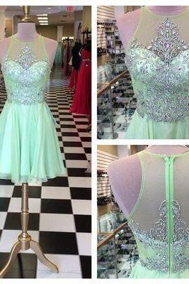 Luxury beads Rhinestone Homecoming Dresses, Chiffon Homecoming Dresses, Chiffon Homecoming Dresses, Dresses For Homecoming, Homecoming Dresses, Cheap Homecoming Dresses, Popular Homecoming Dresses,Homecoming party Gowns,Custom Made Evening Dress,Vestido de Noiva, Wedding Guest Dress