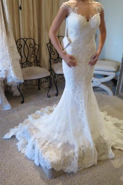 Wedding Dress,Sexy Mermaid Wedding Dress Lace, Wedding Gowns, Bridal Dresses, Bridal Gowns, Bride Dress, Dress for wedding, Cheap Wedding Dress, Custom Wedding Dress Plus size,Wedding Guest Prom Gowns, Formal Occasion Dresses,Formal Dress