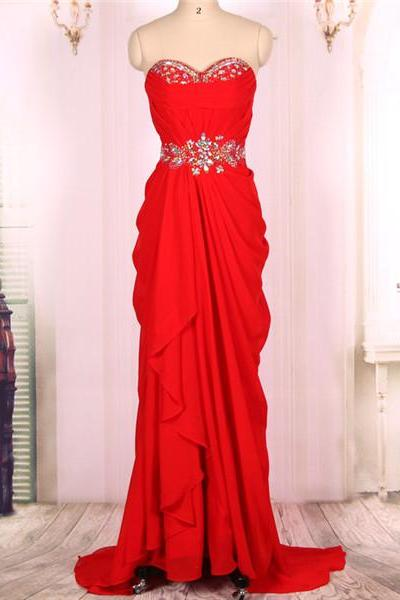 Prom Dresses, Cheap Long Sweetheart Red Mermaid Prom Dresses Gowns,Formal Evening Dresses Gowns, Homecoming Graduation Cocktail Party Dresses Custom Plus size,Graduation Party Dress,Wedding Guest Prom Gowns, Formal Occasion Dresses,Formal Dress