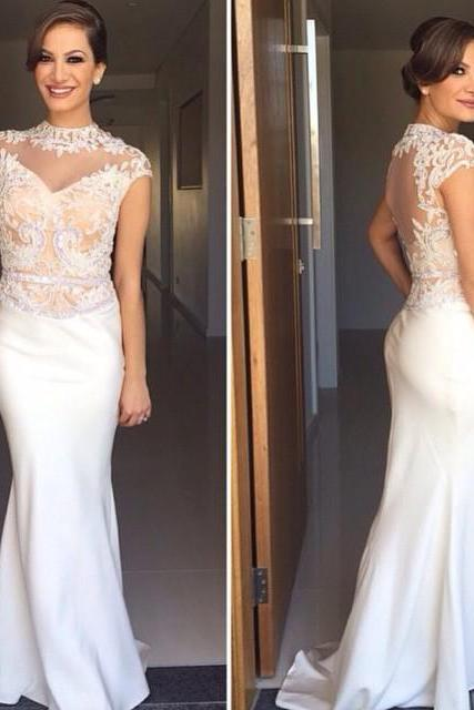 Prom Dress, Long Prom Dress,Sexy Mermaid Prom Dress,High Neck Evening Dress,Backless Prom Dresses,High Quality Graduation Dresses,Wedding Guest Prom Gowns, Formal Occasion Dresses,Formal Dress