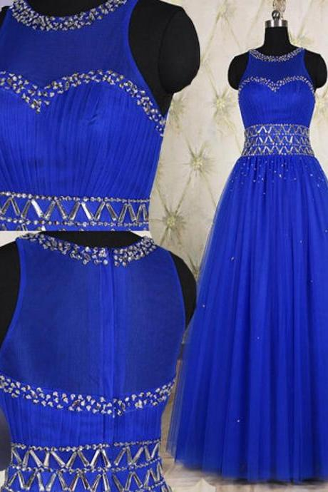 Prom Dress, Royal Blue Prom Dress Formal Wear Party Gown ,High Quality Graduation Dresses,Wedding Guest Prom Gowns, Formal Occasion Dresses,Formal Dress