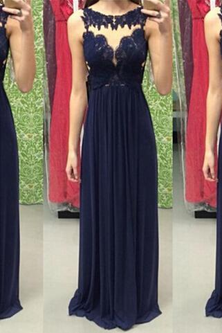 Sleeveless A-Line Prom Dress,Lace Chiffon Prom Dresses,High Quality Graduation Dresses,Wedding Guest Prom Gowns, Formal Occasion Dresses,Formal Dress
